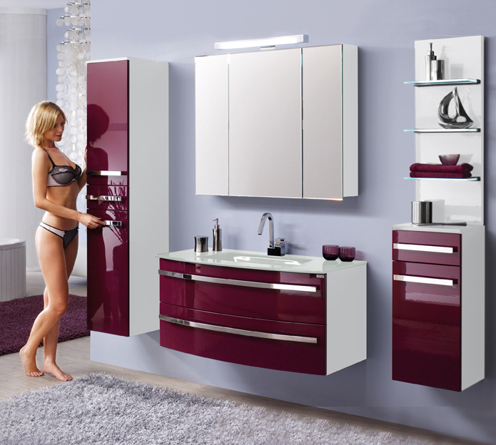 badblock lavie modell danielle 110cm living with style. Black Bedroom Furniture Sets. Home Design Ideas