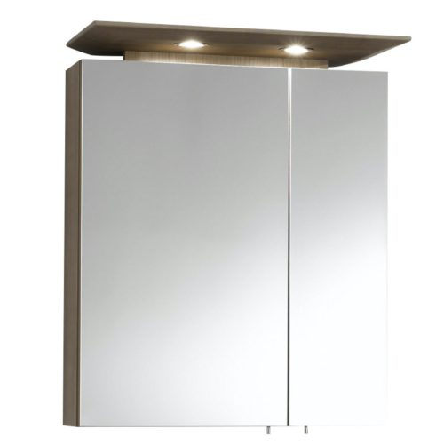 Spiegelschrank 90cm LED Acryloberboden – LIVING WITH STYLE